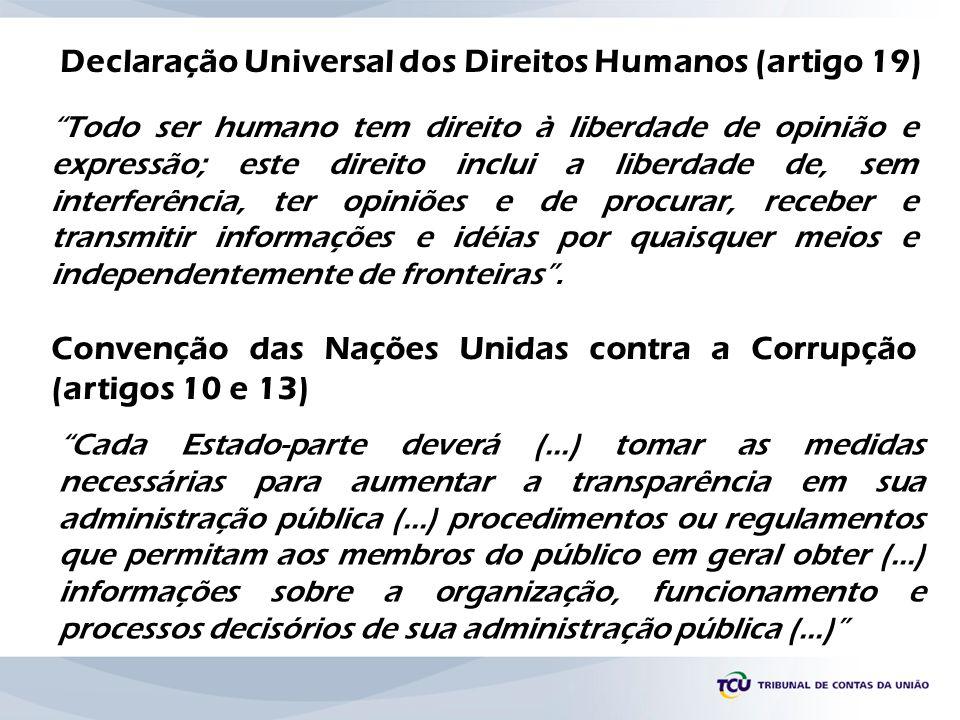 Declaração Universal dos Direitos Humanos (artigo 19)