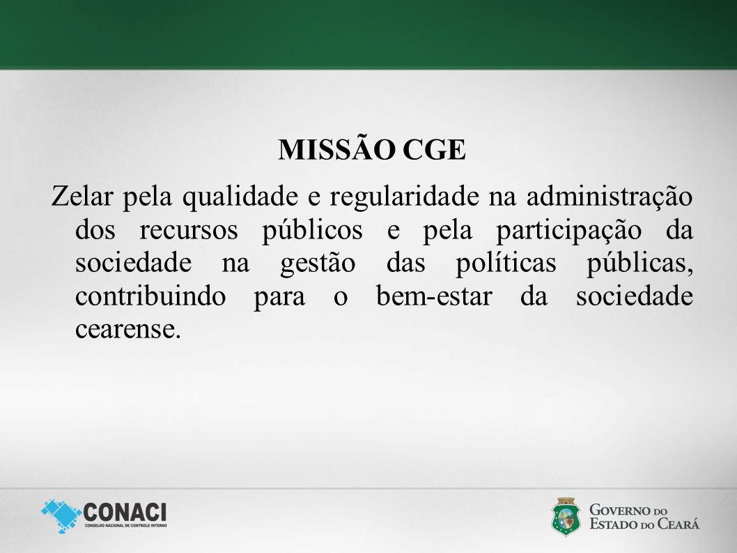MISSÃO CGE