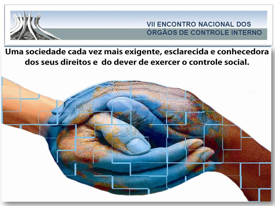 CAPA..... VII ENCONTRO NACIONAL DOS ÓRGÃOS DE CONTROLE INTERNO