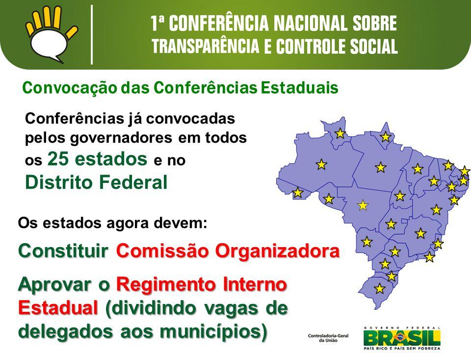 Constituir Comissão Organizadora