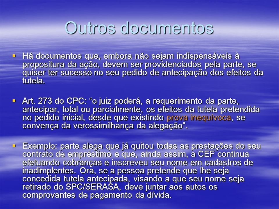 Outros documentos