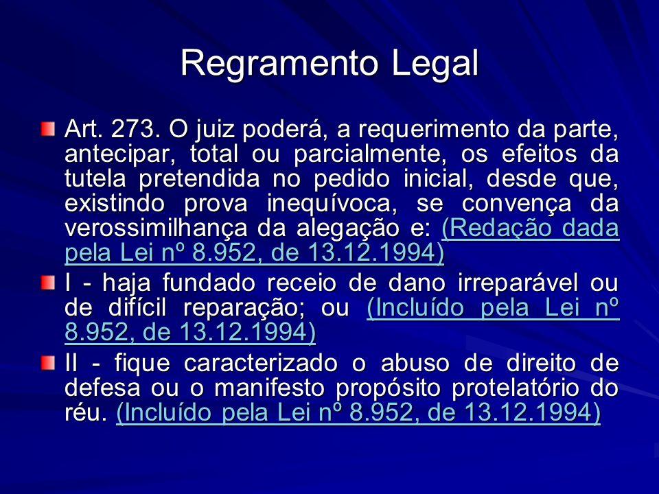Regramento Legal