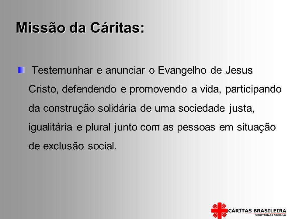 Missão da Cáritas: