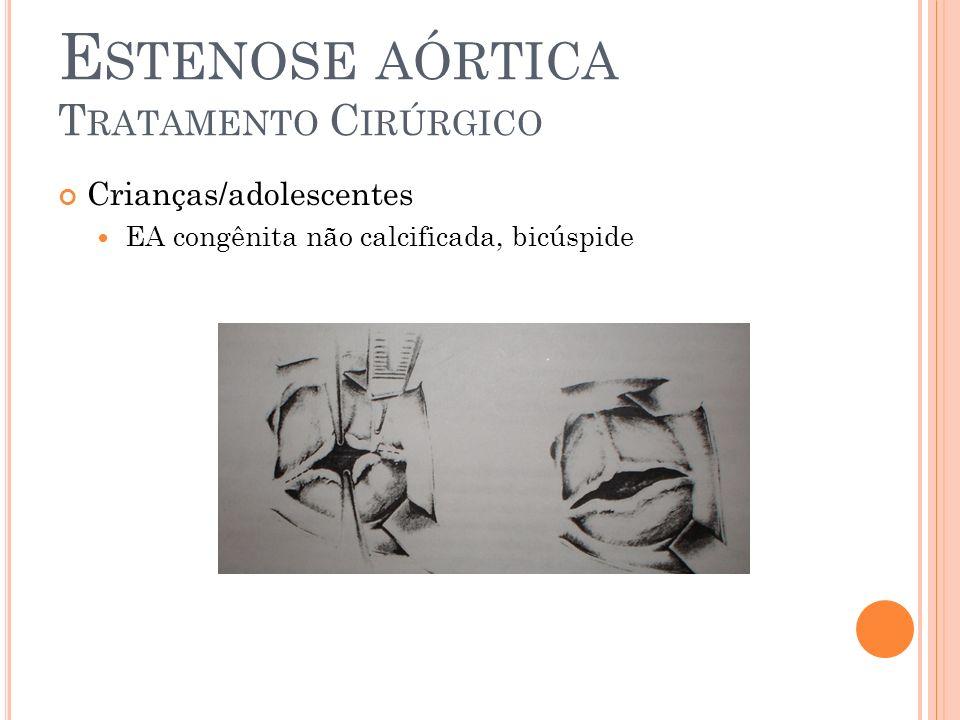 Estenose aórtica Tratamento Cirúrgico