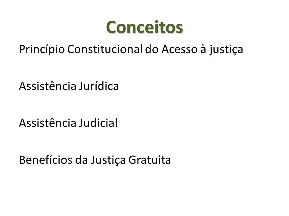 Conceitos Princípio Constitucional do Acesso à justiça