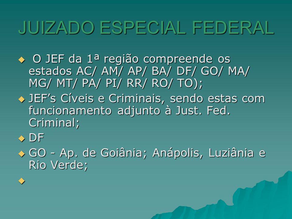 JUIZADO ESPECIAL FEDERAL