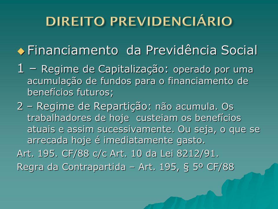 Financiamento da Previdência Social