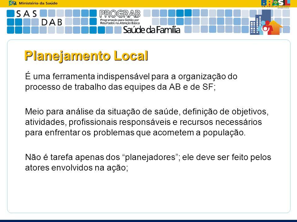 Planejamento Local
