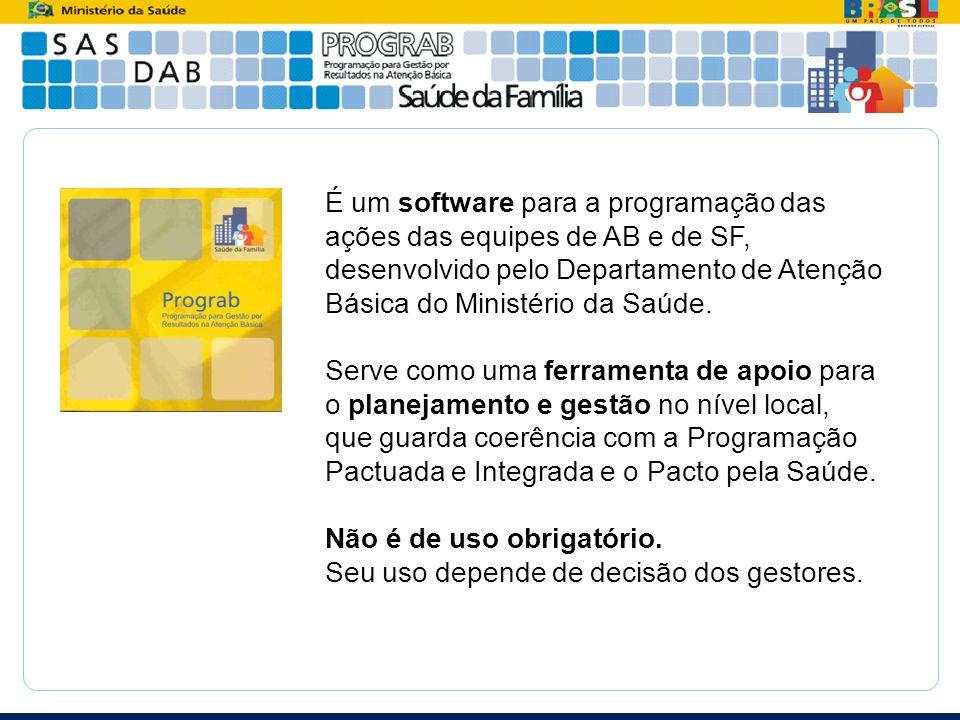 É um software para a programação das ações das equipes de AB e de SF, desenvolvido pelo Departamento de Atenção Básica do Ministério da Saúde.