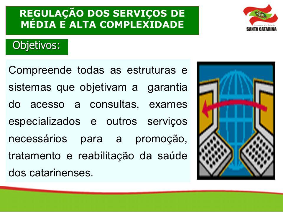 REGULAÇÃO DOS SERVIÇOS DE MÉDIA E ALTA COMPLEXIDADE