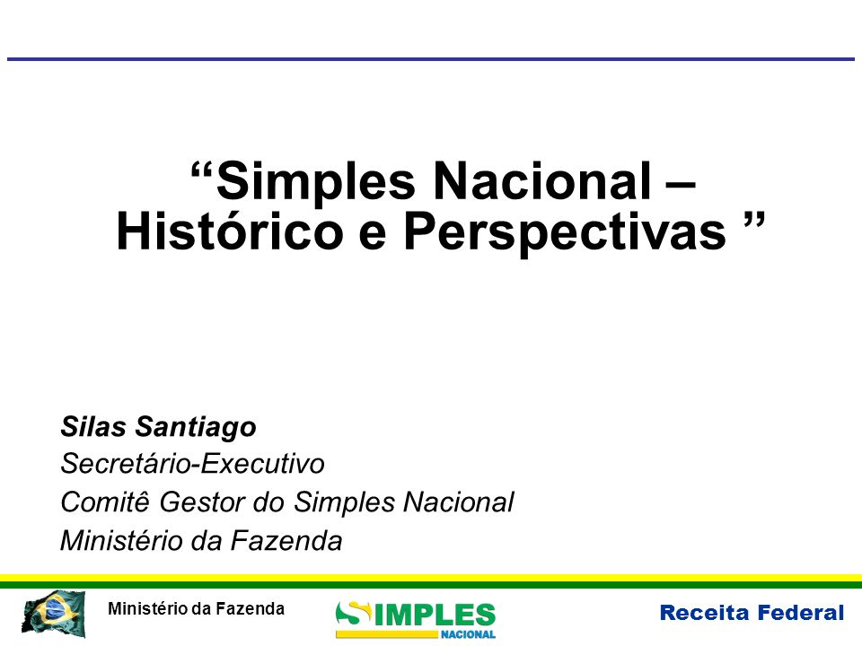 Simples Nacional – Histórico e Perspectivas