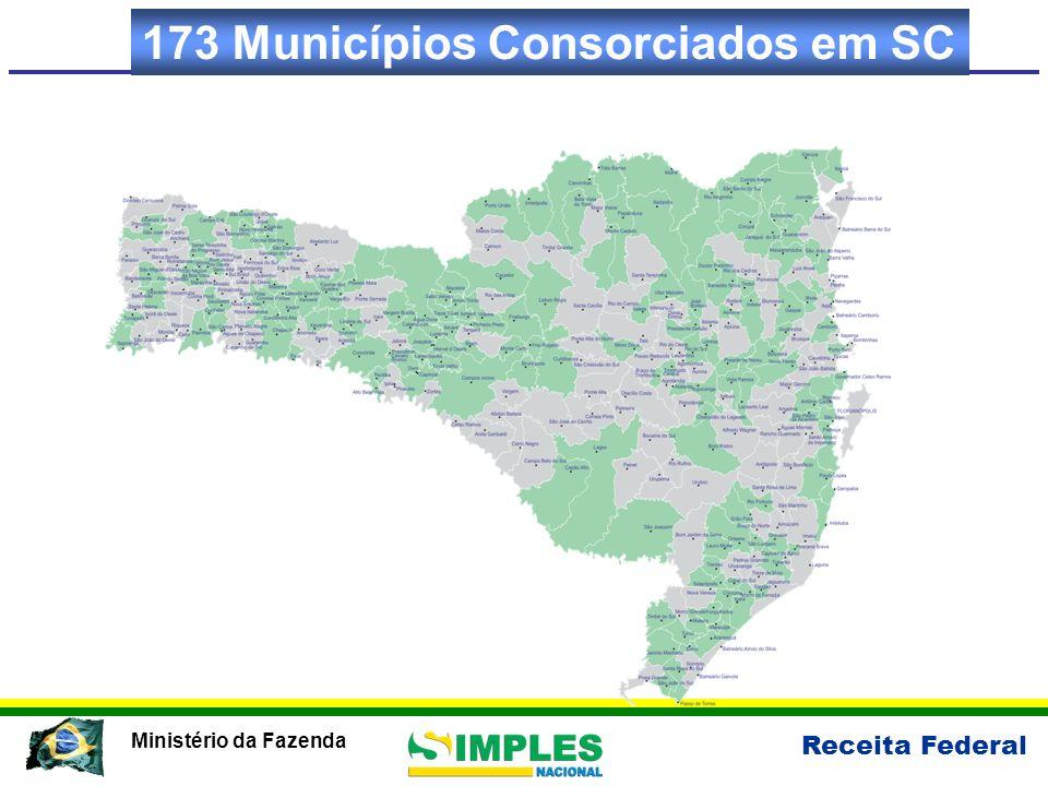 173 Municípios Consorciados em SC