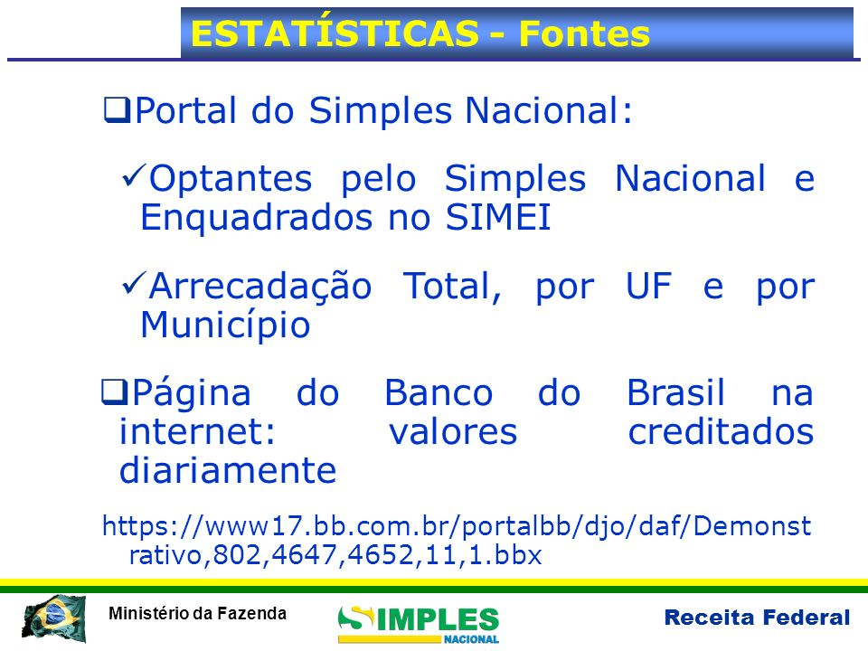 Portal do Simples Nacional:
