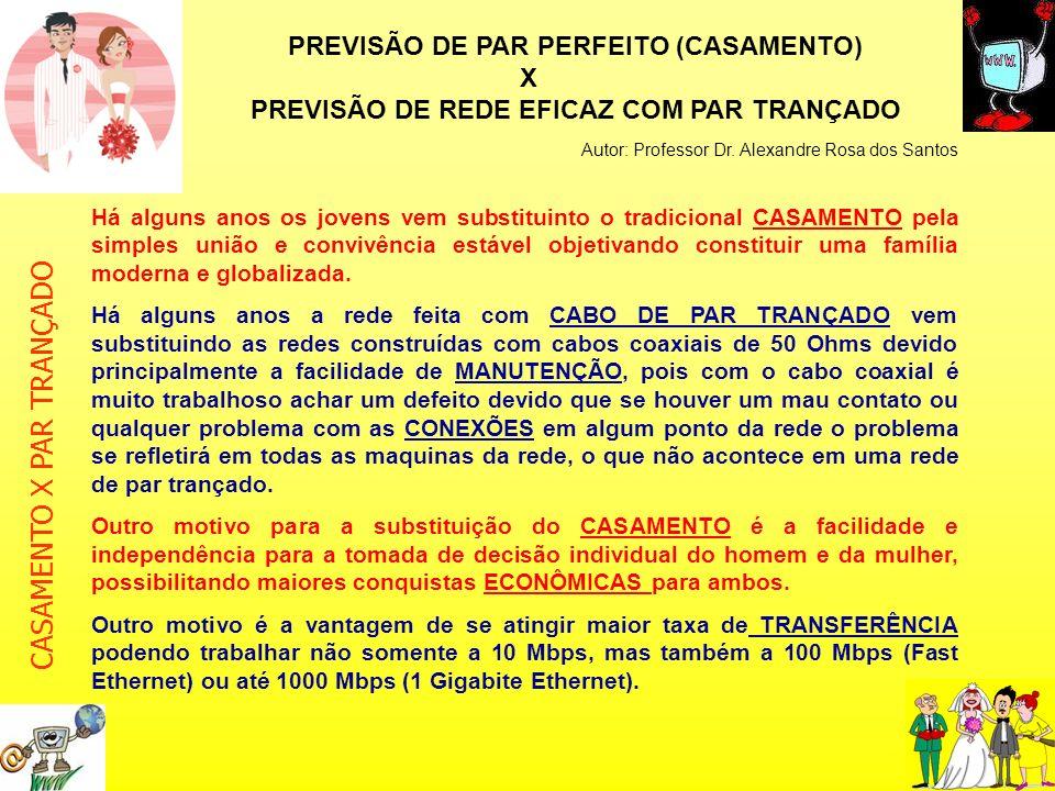 PREVISÃO DE REDE EFICAZ COM PAR TRANÇADO