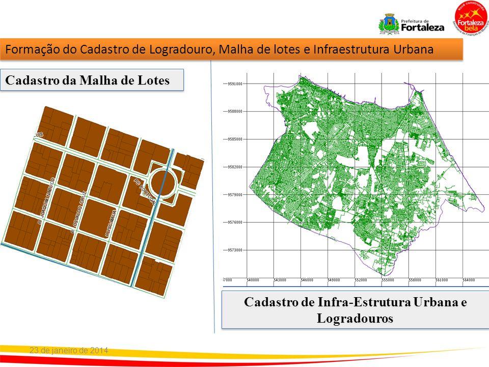 Cadastro de Infra-Estrutura Urbana e Logradouros