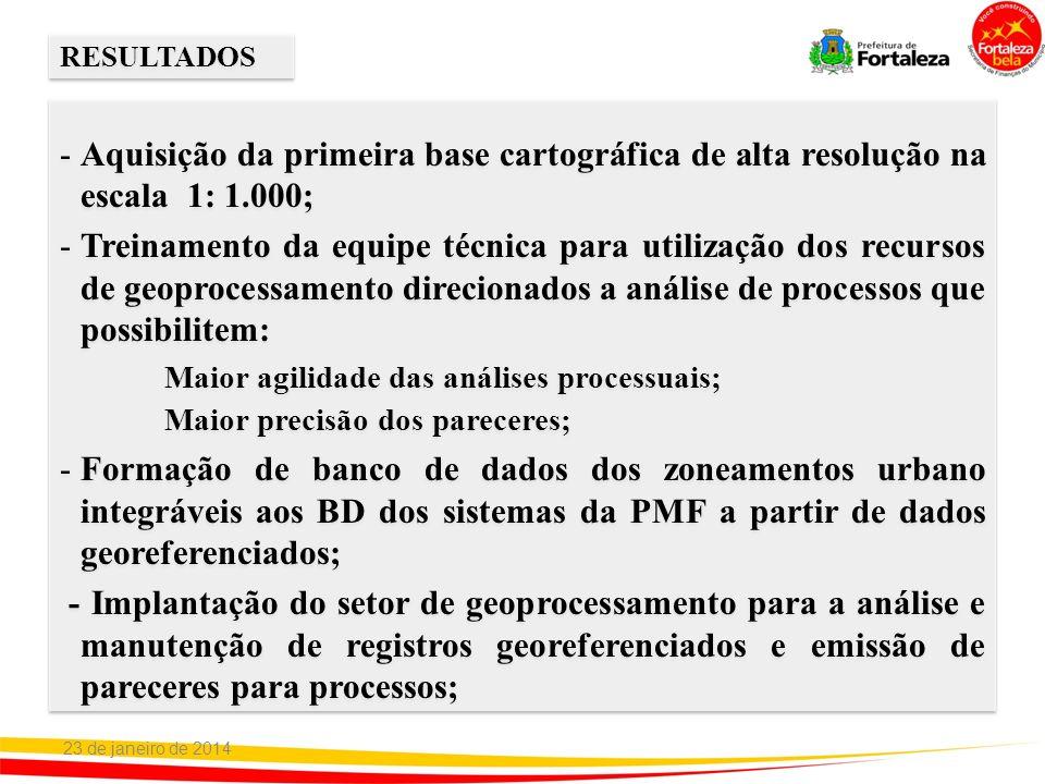 Maior agilidade das análises processuais;