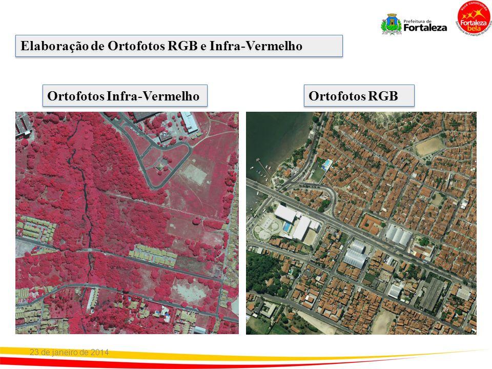 Elaboração de Ortofotos RGB e Infra-Vermelho