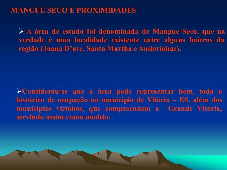 MANGUE SECO E PROXIMIDADES