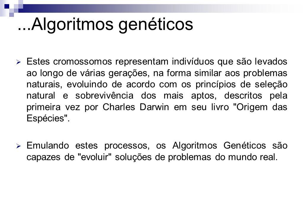 ...Algoritmos genéticos