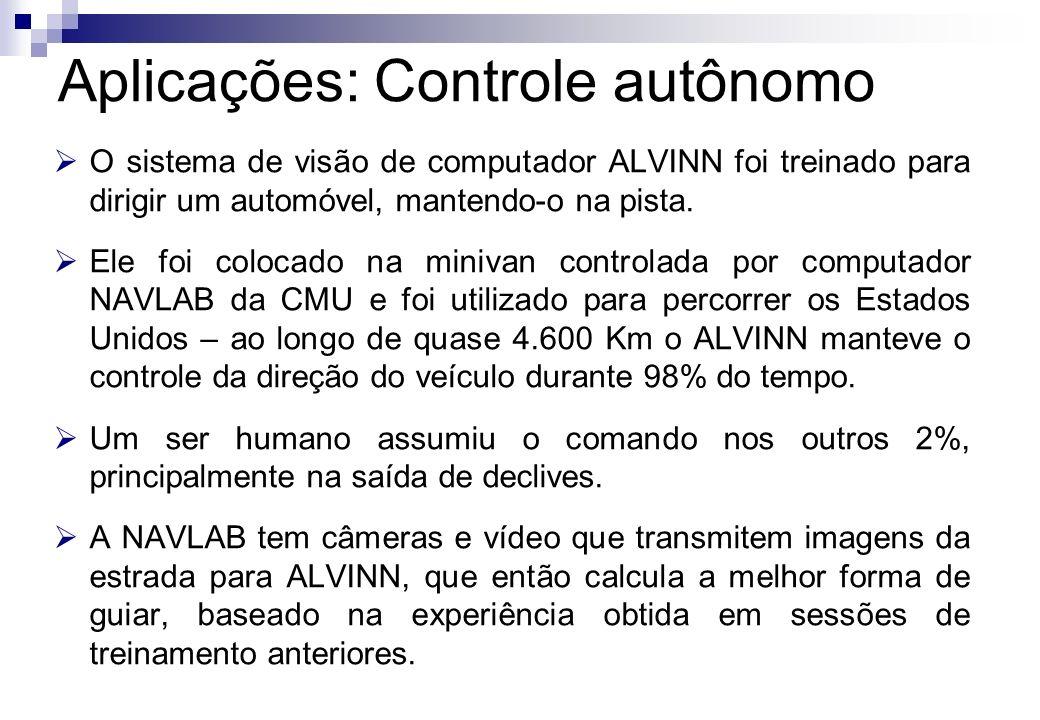 Aplicações: Controle autônomo