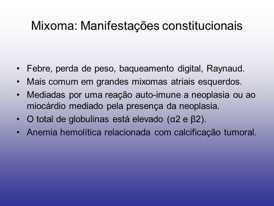 Mixoma: Manifestações constitucionais