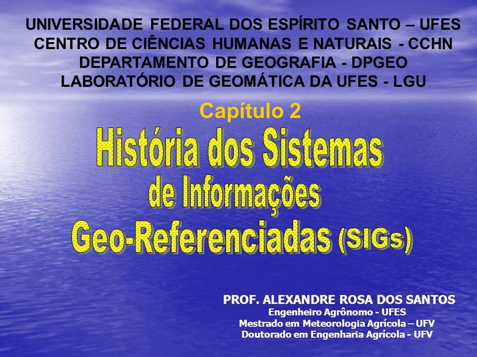História dos Sistemas Capítulo 2 Geo-Referenciadas de Informações