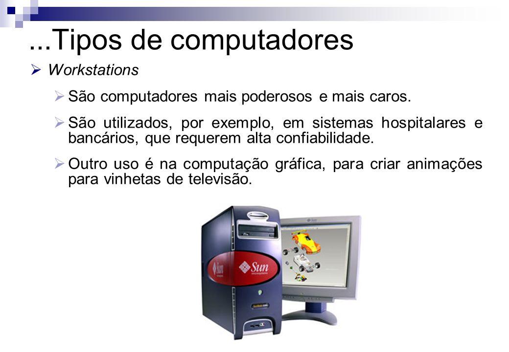 ...Tipos de computadores Workstations
