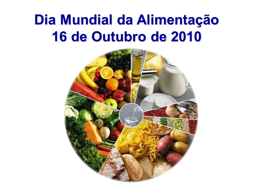 Dia Mundial da Alimentação 16 de Outubro de 2010