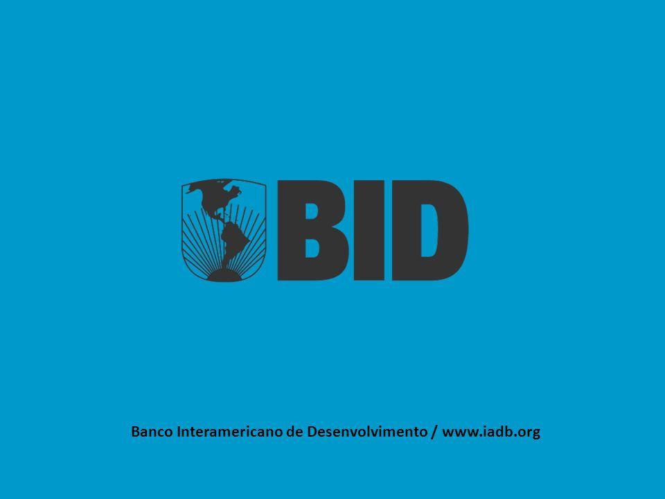 Banco Interamericano de Desenvolvimento / www.iadb.org