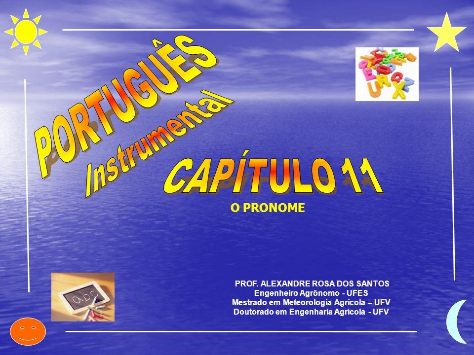 PORTUGUÊS Instrumental CAPÍTULO 11 O PRONOME