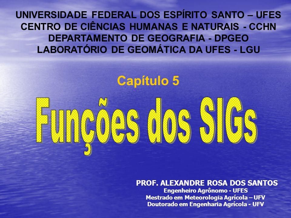 Funções dos SIGs Capítulo 5