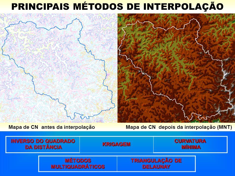 MÉTODOS MULTIQUADRÁTICOS TRIANGULAÇÃO DE DELAUNAY
