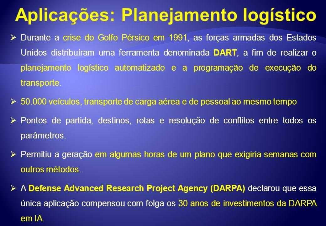 Aplicações: Planejamento logístico