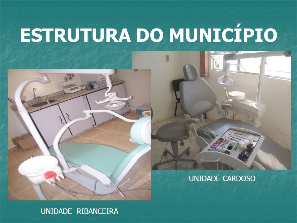 ESTRUTURA DO MUNICÍPIO