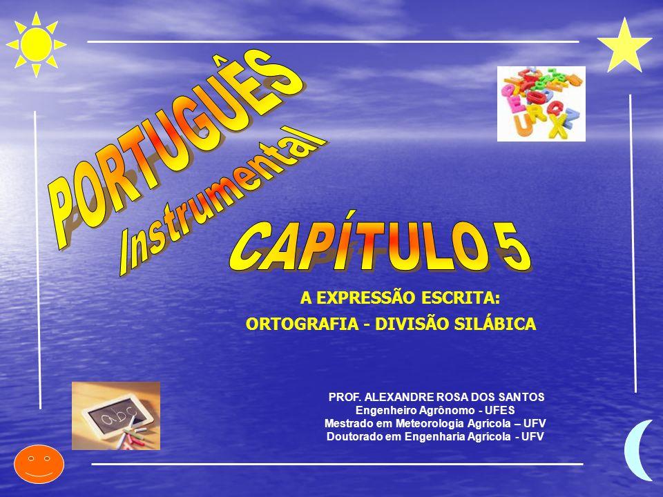 PORTUGUÊS Instrumental CAPÍTULO 5 A EXPRESSÃO ESCRITA: