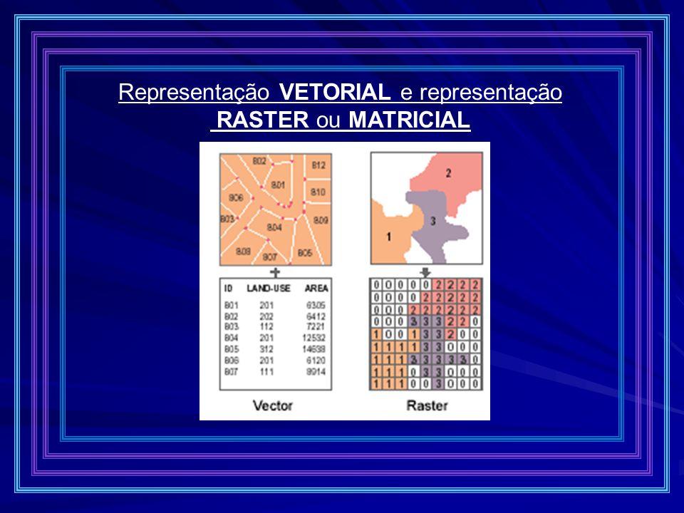 Representação VETORIAL e representação