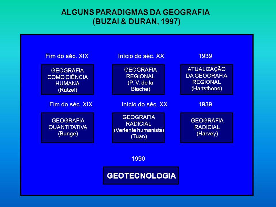 ALGUNS PARADIGMAS DA GEOGRAFIA
