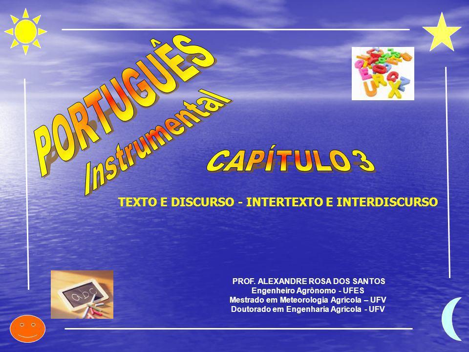 PORTUGUÊS Instrumental CAPÍTULO 3