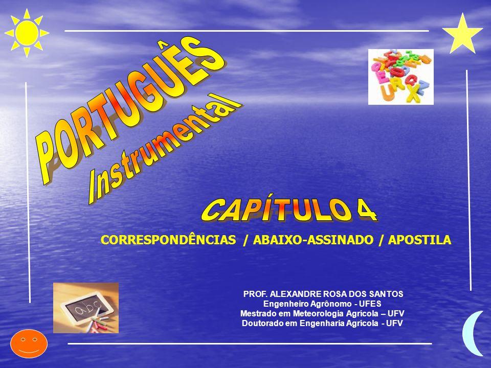 PORTUGUÊS Instrumental CAPÍTULO 4