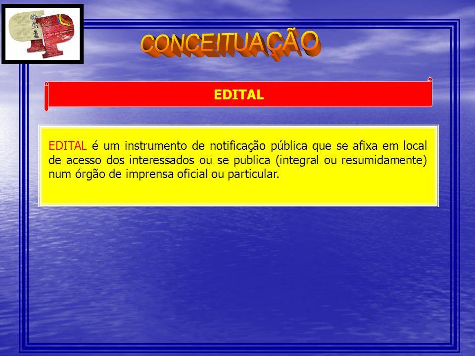 CONCEITUAÇÃO EDITAL.