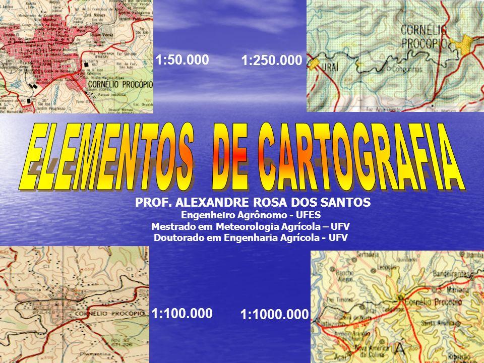ELEMENTOS DE CARTOGRAFIA