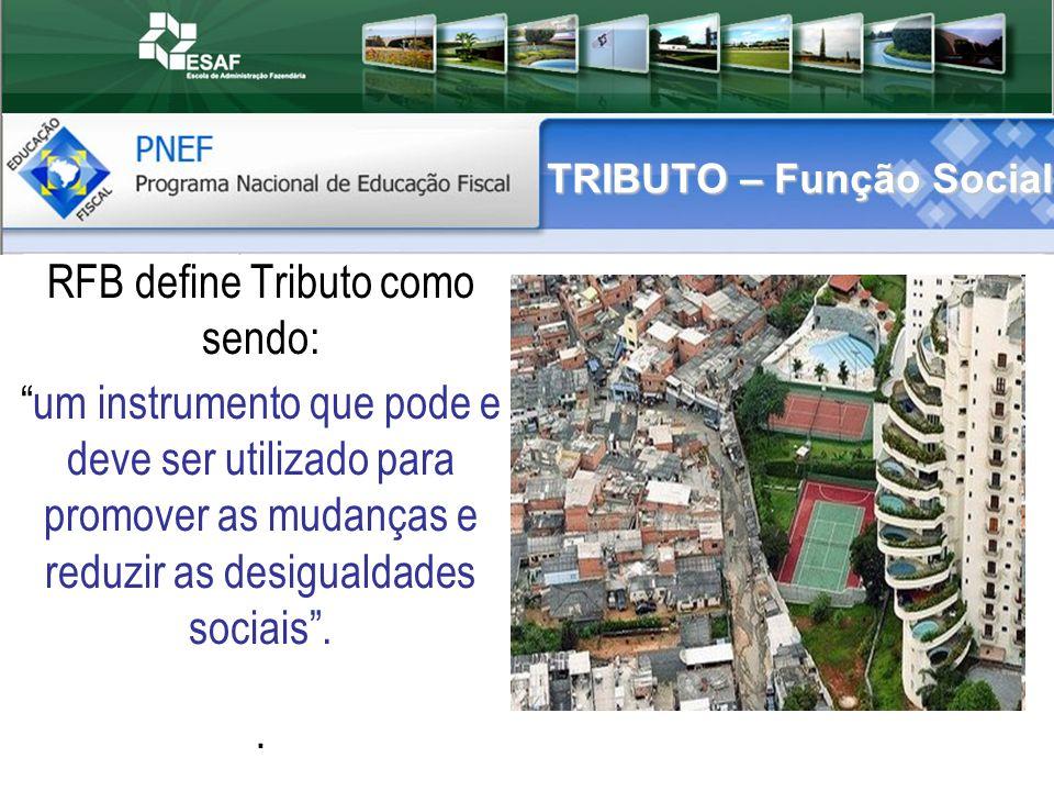 TRIBUTO – Função Social