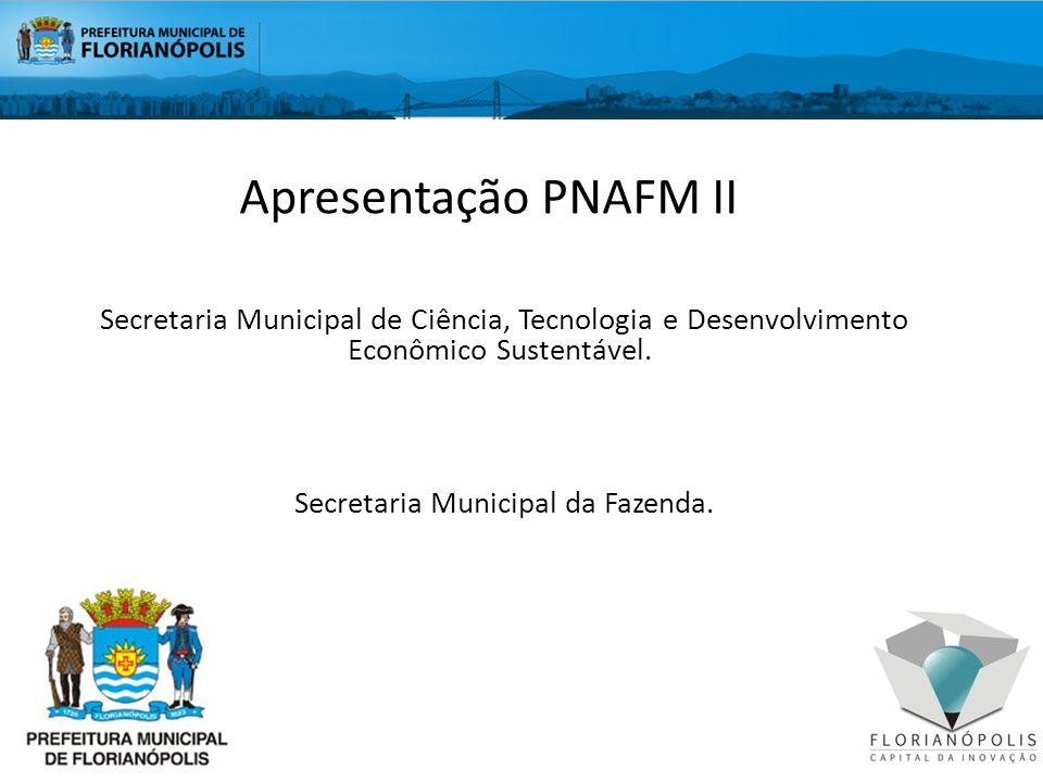 Secretaria Municipal da Fazenda.