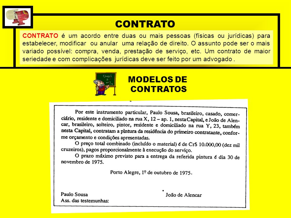 CONTRATO MODELOS DE CONTRATOS