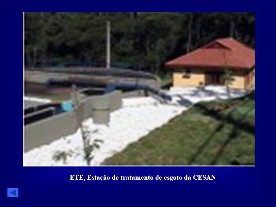 ETE, Estação de tratamento de esgoto da CESAN