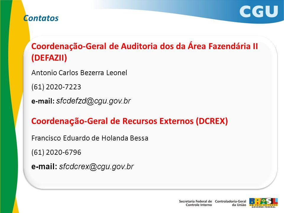 Coordenação-Geral de Auditoria dos da Área Fazendária II (DEFAZII)