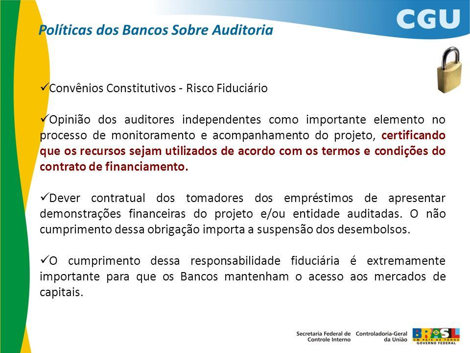 Políticas dos Bancos Sobre Auditoria