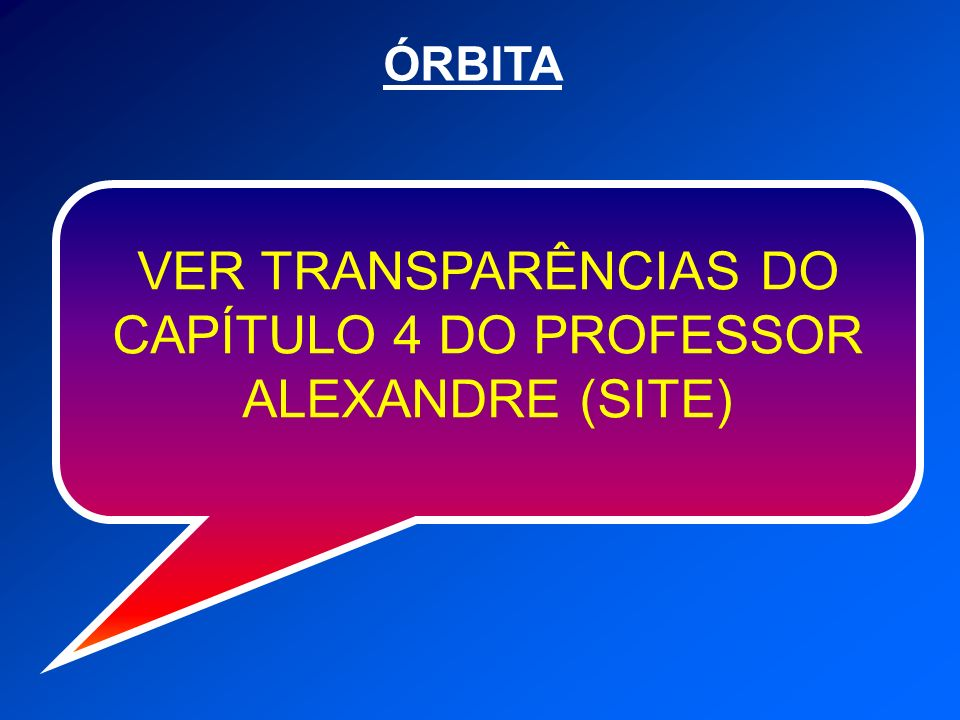 VER TRANSPARÊNCIAS DO CAPÍTULO 4 DO PROFESSOR ALEXANDRE (SITE)