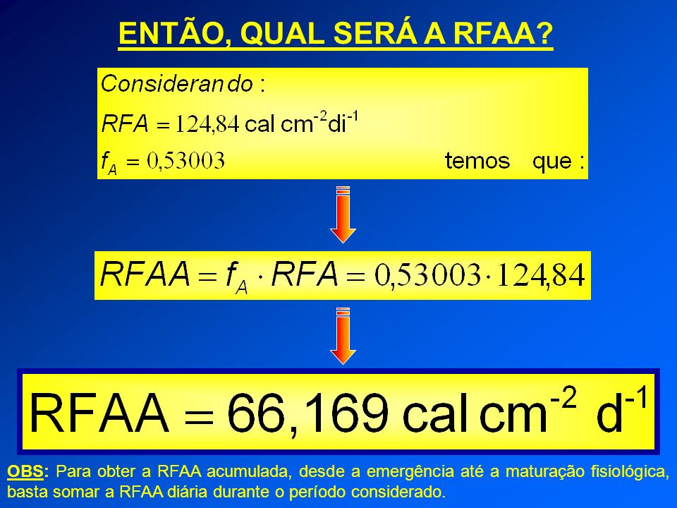 ENTÃO, QUAL SERÁ A RFAA