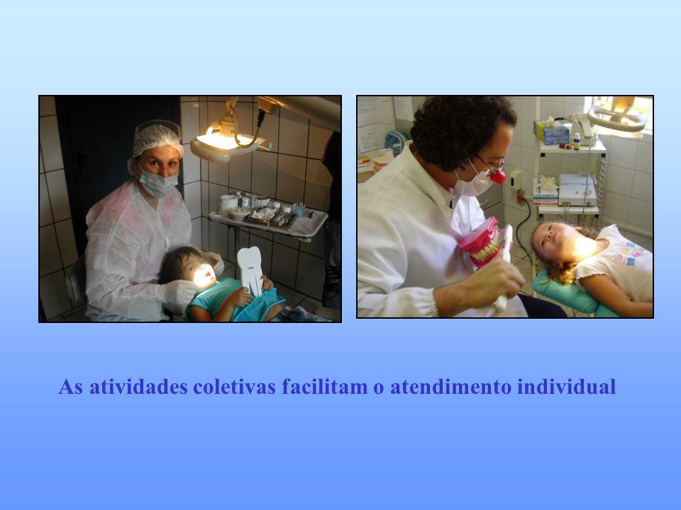 As atividades coletivas facilitam o atendimento individual